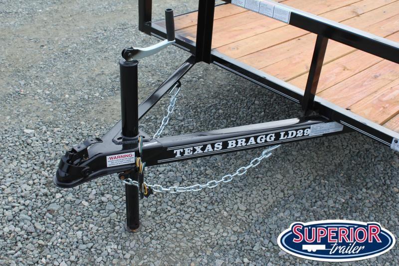 2020 Texas Bragg 5x10LD w/ Gate
