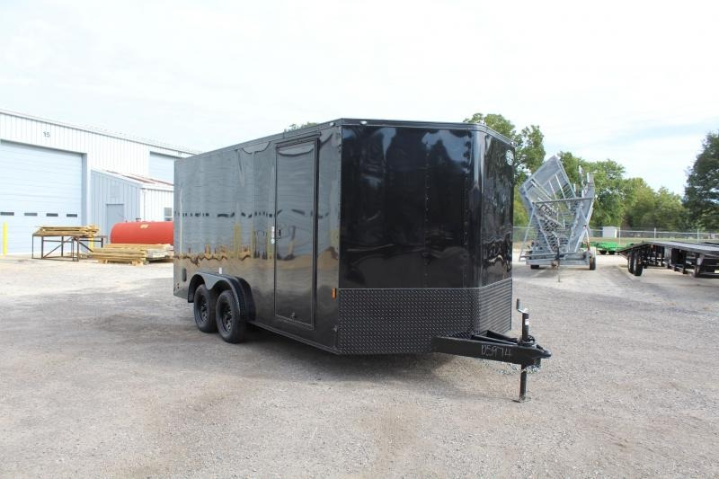 2020 Continental Cargo 8X16 w/ Ramp Door