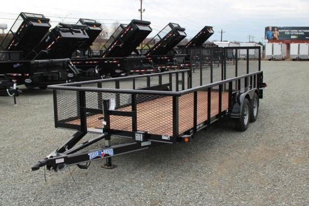 2018 Texas Bragg 18P 2ft Expanded Sides w/ Split Gate