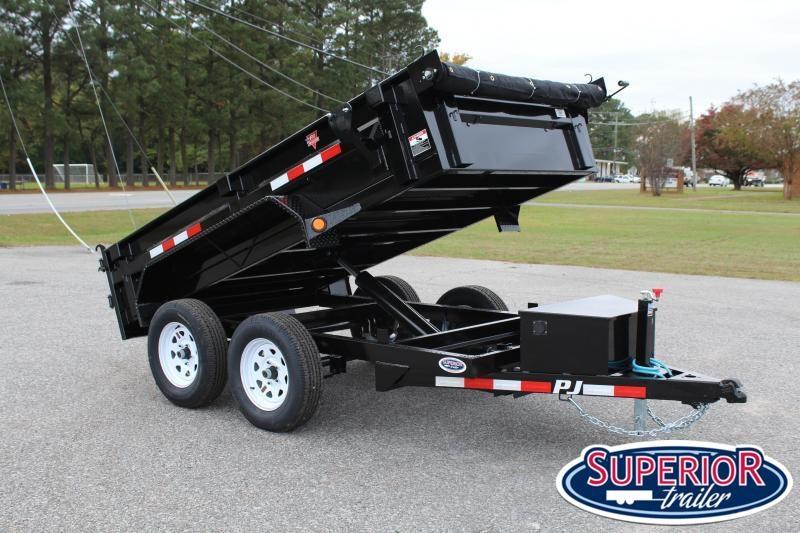 2020 PJ Trailers 5X10 D5 7K Dump w/ Tarp