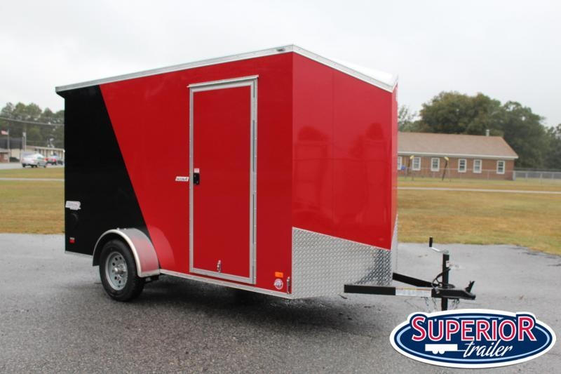 "2020 Bravo Scout 6x12 w/ 6"" Extra Height and Ramp Door"