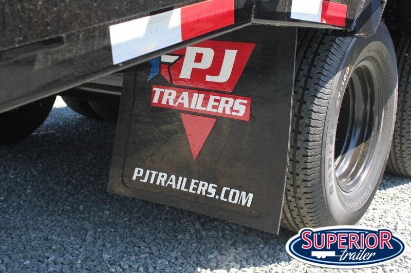 2020 PJ Trailers 26' Low Pro 25K Gooseneck w/ Flip Over Ramps
