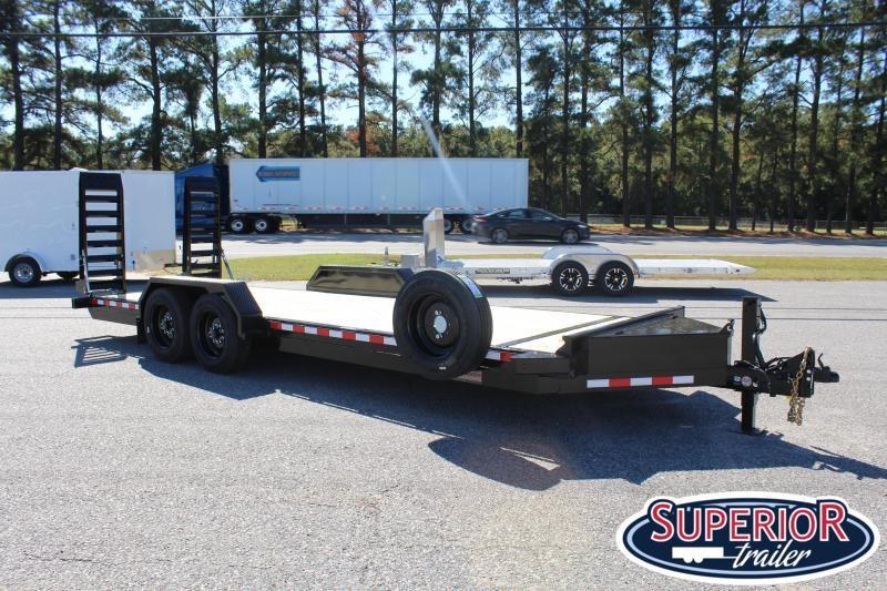 2020 Midsota ST-22 16K  Equipment Trailer w/ Fold Up Ramps
