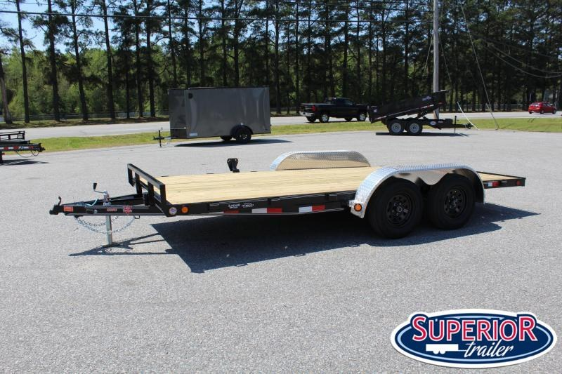 2020 PJ Trailers 16' C4 7K Car / Racing Trailer