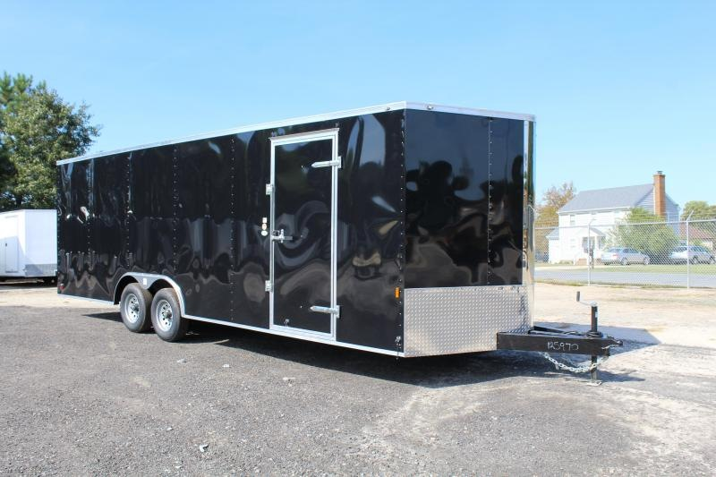 2020 Continental Cargo 8.5X24 10K w/ Ramp Door