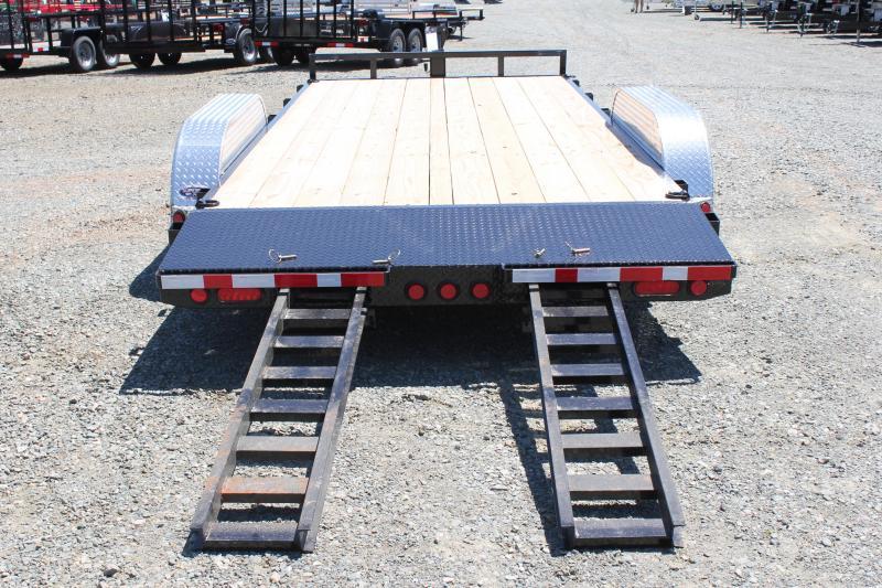 2020 PJ 18' C5 w/ Rear Slide in Ramps