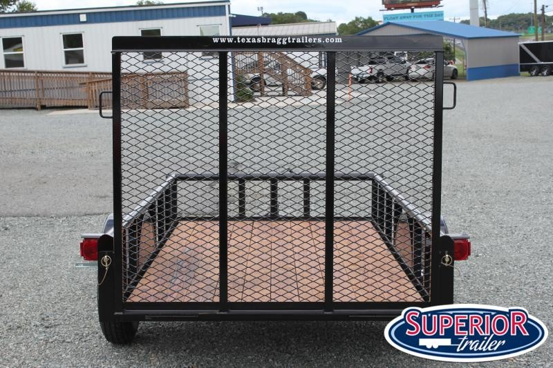 2019 Texas Bragg 5X10P w/ Gate