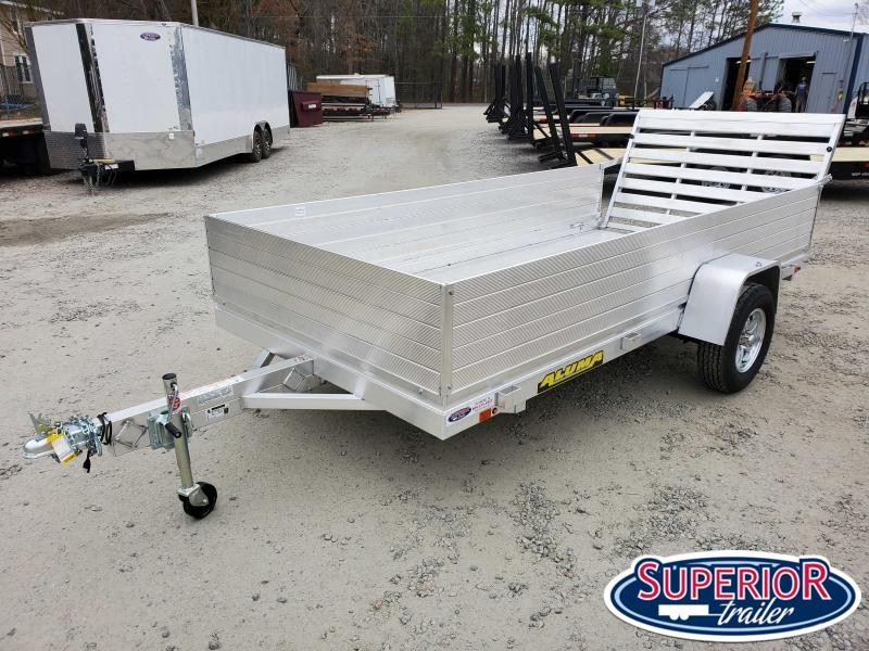 """2020 Aluma 6812H w/ 24"""" Solid Sides and Tailgate"""