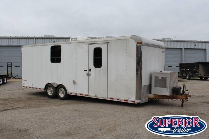 2005 Pace 8.5x24 Enclosed Contractor Trailer Enclosed Cargo Trailer