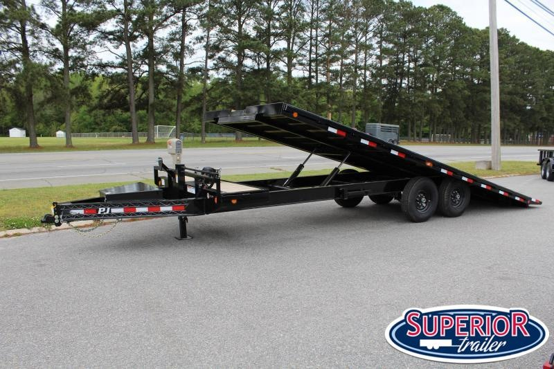 2020 PJ Trailers 24ft T8 14K Tilt Equipment Trailer