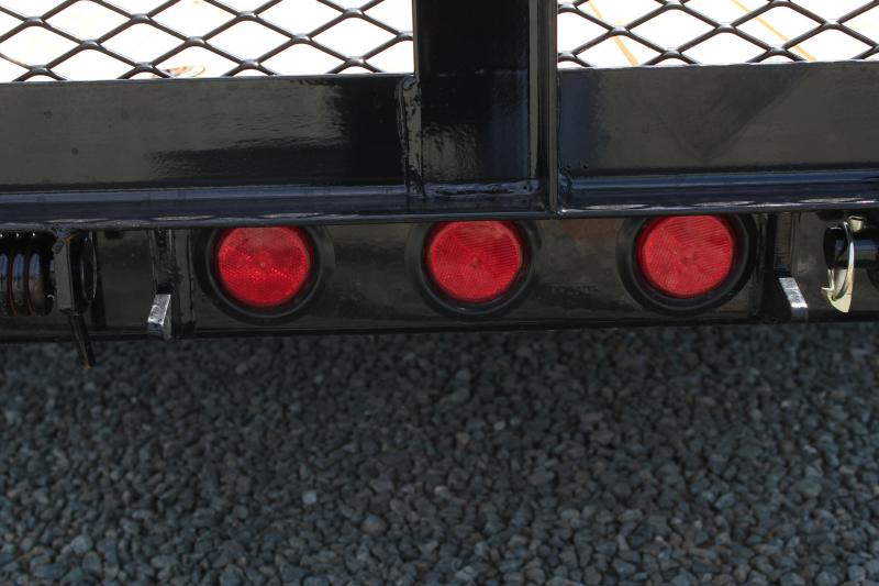 2020 PJ Trailers 5X10 U6 w/ Solid Sides and Gate