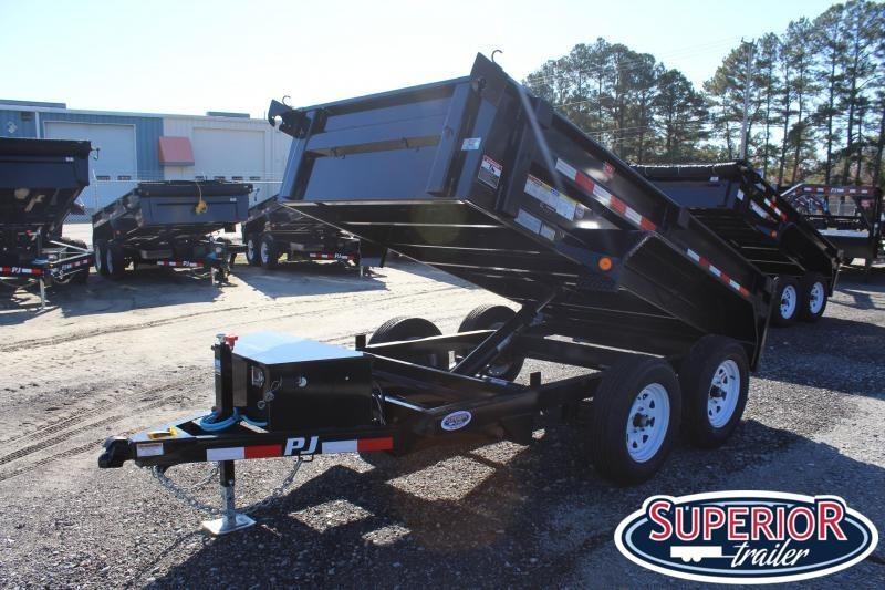 2020 PJ Trailers 5X10 D5 7K Dump