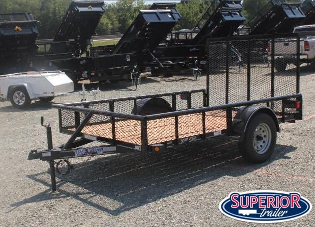 2019 Texas Bragg 6x10P w/ Expanded Sides and Gate