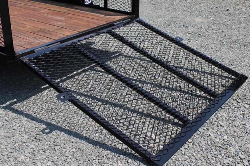 2019 Texas Bragg 5x10P 2ft Expanded Sides w/ Gate