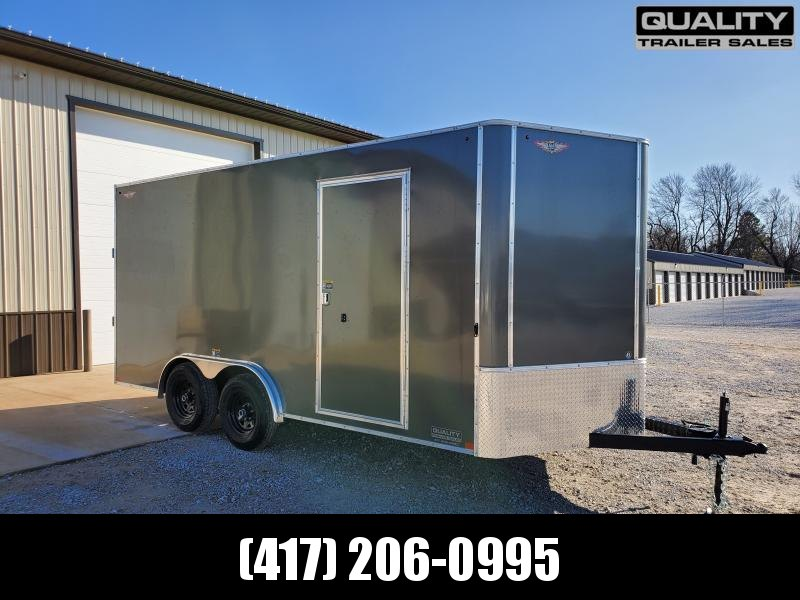 2020 H and H Trailer 8X16 Tandem 10K CARGO w/ 7' Height
