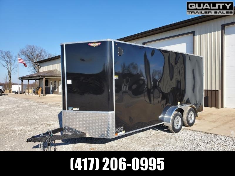 2020 H and H Trailer 7X16 TANDEM 7K CARGO w/ 7' Height