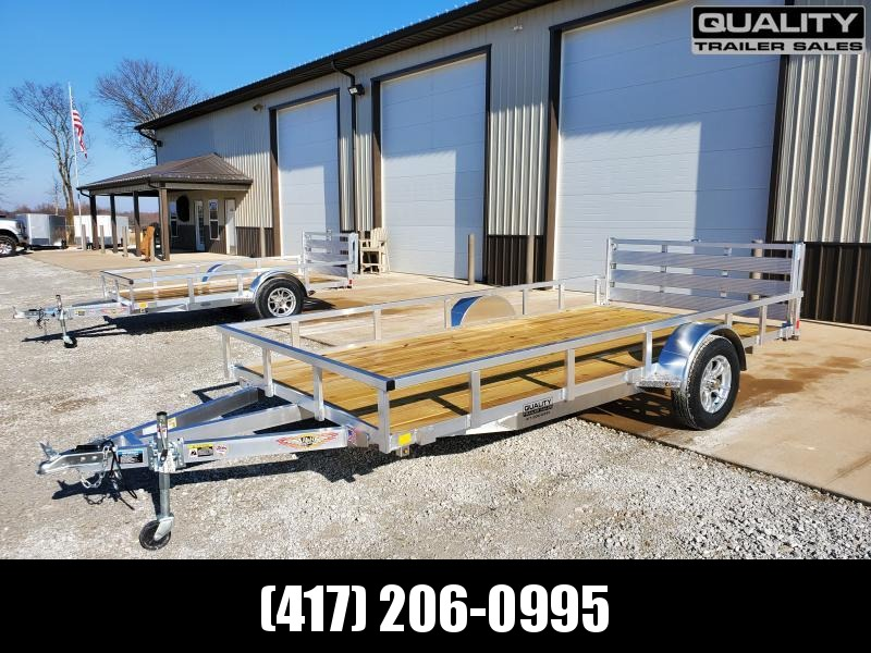 2020 H and H Trailer 8.5(82)X14 RAILSIDE ALUM 3K