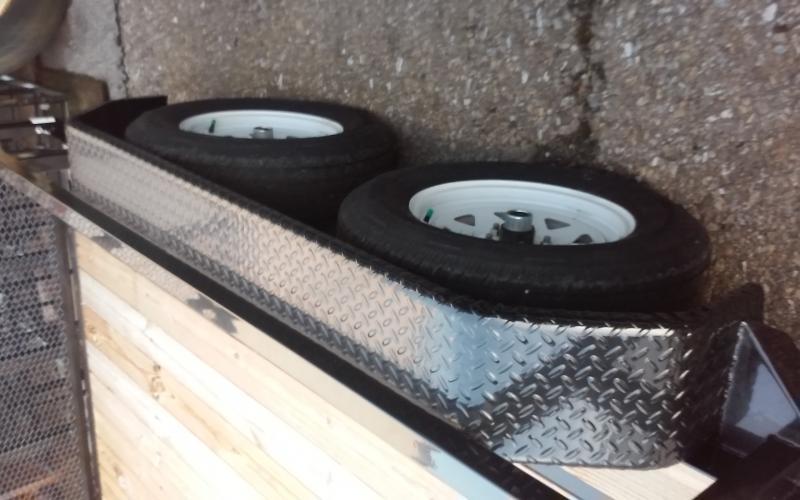 2019 7 x 12 7k Sure-Trac TUBE TOP UTILITY Utility Trailer