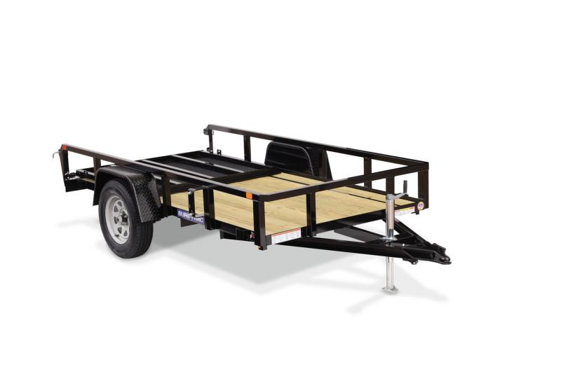 2020 Sure-Trac 5 X 8 SA Tube Top Utility Utility Trailer