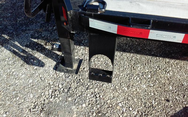 2018 Sure-Trac 8.5 X 20+5 GOOSENECK Low Pro Deckover Tandem GN15K