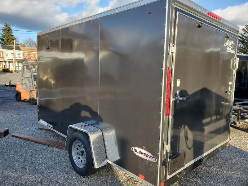 2020 Look Trailer 7 X 12 3.5K Flat Top Enclosed Cargo Trailer