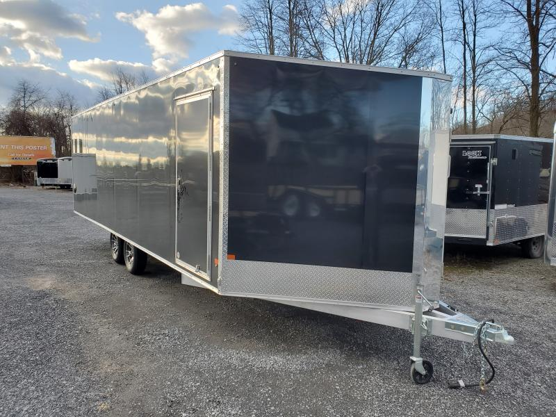 2020 Alcom-Stealth 8.5 x 24.SNOPRO ENCLOSED SNOWMOBILE TRAILER Snowmobile Trailer
