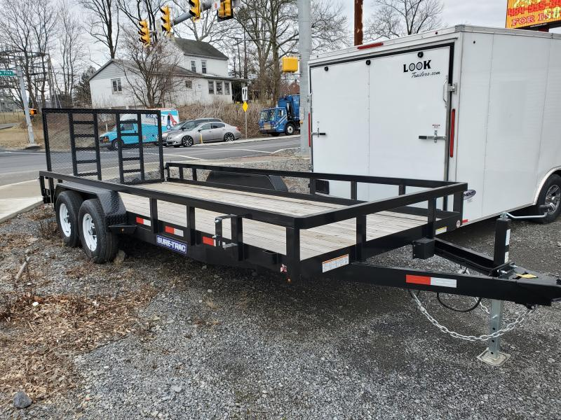 2019 Sure-Trac 7 X 18 Tube Top Utility  10K Tandem