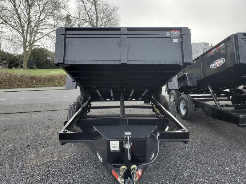 2020 Bri-Mar 7 X 12 12K Dump Trailer