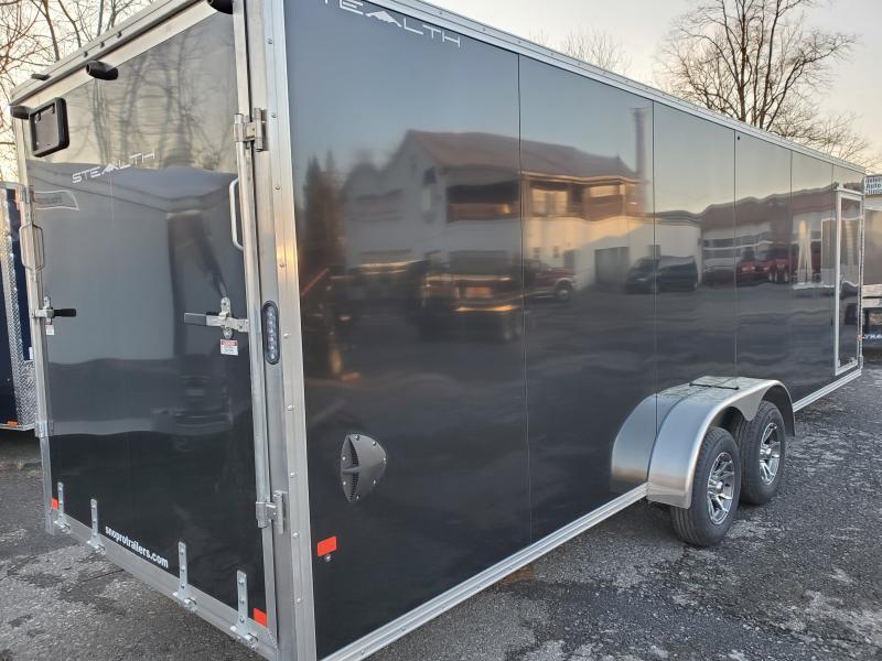 2020 Alcom-Stealth 7 x 24 STEALTH Snowmobile Trailer