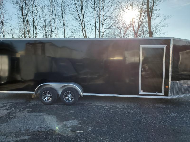 2020 Alcom-Stealth 7 x 24 STEALTH Snowmobile Trailer