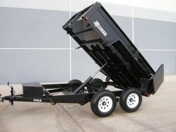2020 Bri-Mar 6 X 10 7K Dump Trailer