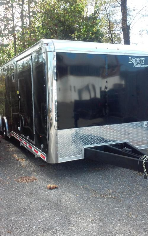 2019 8.5 X 28 12K Look Trailers PLRT8.5X28TE4 Car / Racing Trailer