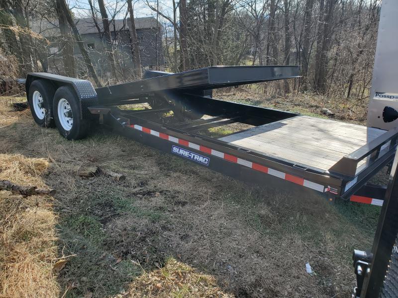 2019 Sure-Trac 7 x 18+4 14k Tilt Bed Equipment  14K