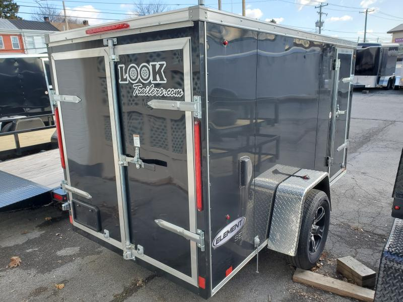 2020 Look Trailers 5 x 10 3k ELEMENT SE Motorcycle Trailer