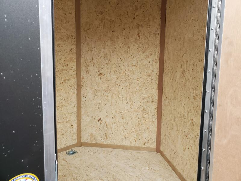 2020 Look Trailers 6 x 14 3k Flat Top Enclosed Cargo Trailer