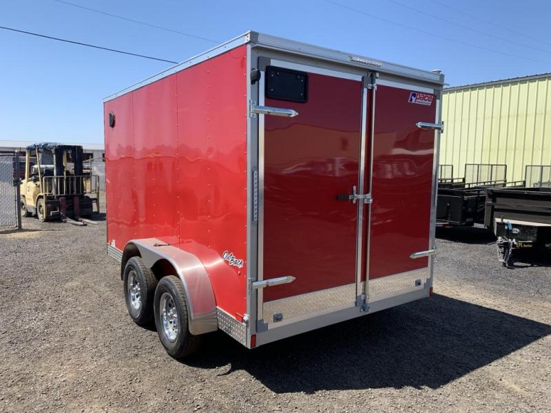 2020 Pace American 7x12 7K Enclosed Cargo Trailer