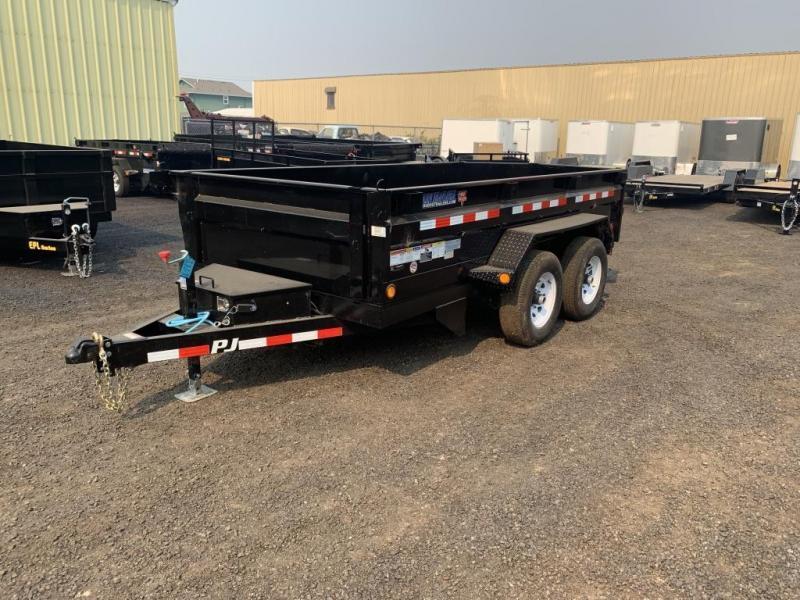 2020 PJ Trailers 6x12 10K Dump Trailer with Ramps