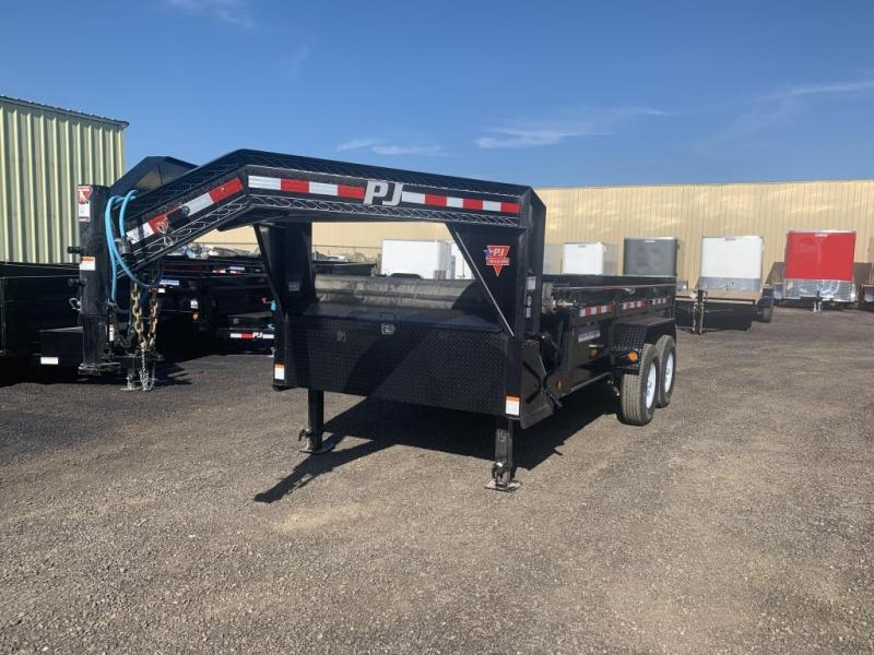 2020 PJ Trailers (DL)83 in. Low Pro Gooseneck Dump