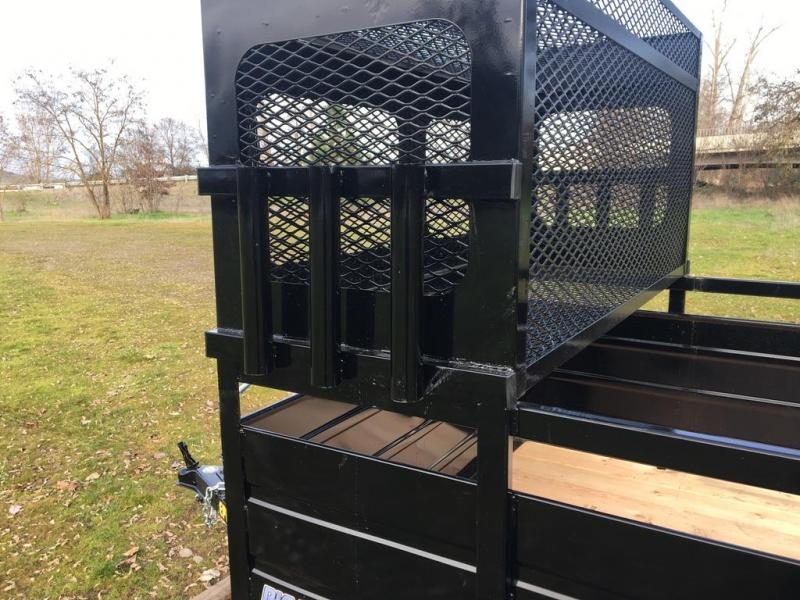 2019 Big Dog 7x12 Landscape Utility Trailer