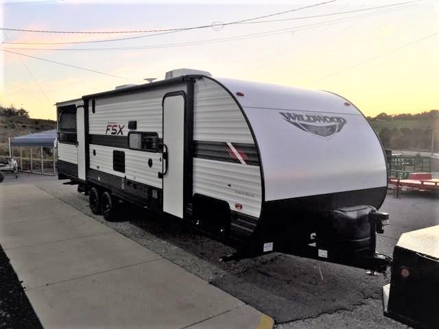 2020 Forest River Inc. WildWood FSX 280RT Toy Hauler