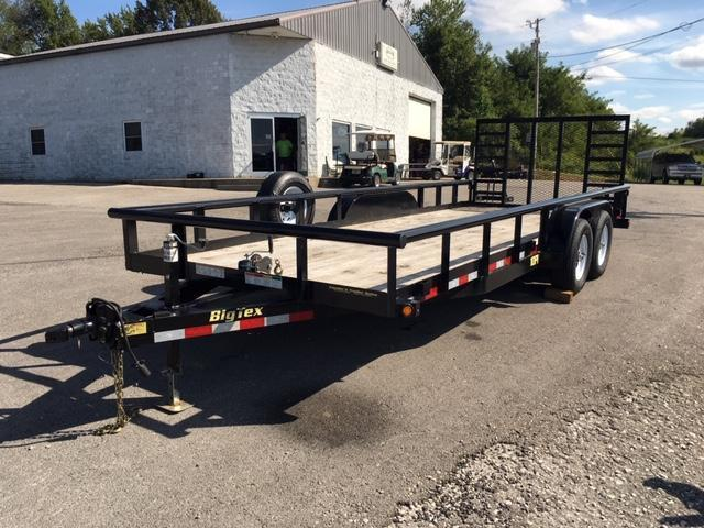 2017 Big Tex Trailers 10PI-20BK4HDIR Utility Trailer