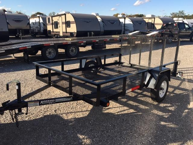 2019 Anderson Manufacturing EC 6X10LS Utility Trailer