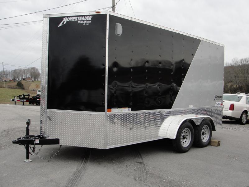 2019 Homesteader Inc. 714IT Enclosed Cargo Trailer