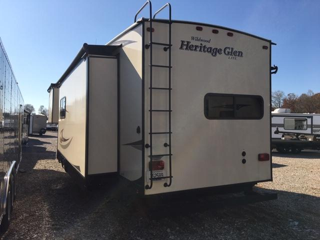 2016 Forest River Inc. Heritage Glen 346RK Fifth Wheel Campers RV