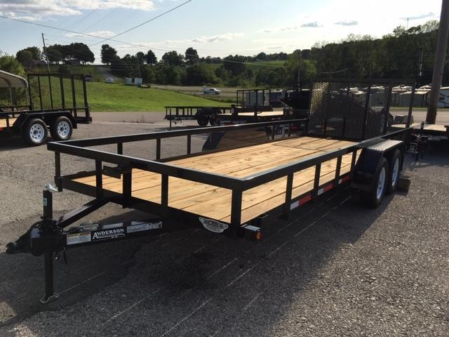 2019 Anderson Manufacturing LST720 Utility Trailer