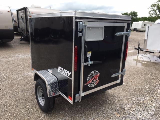 2020 Homesteader Inc. 406FS Enclosed Cargo Trailer