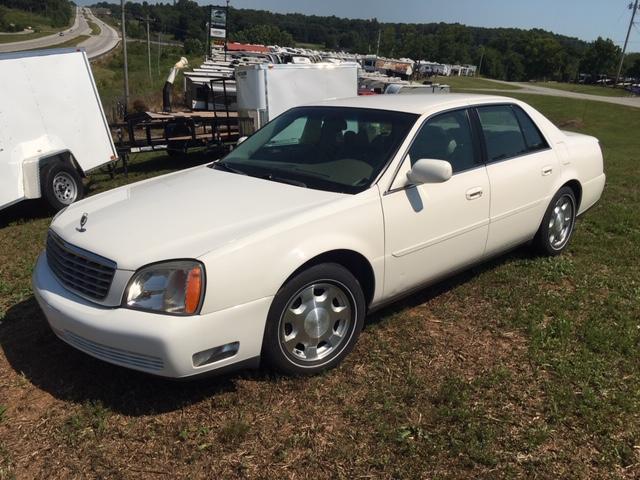 2001 Cadillac Deville Car