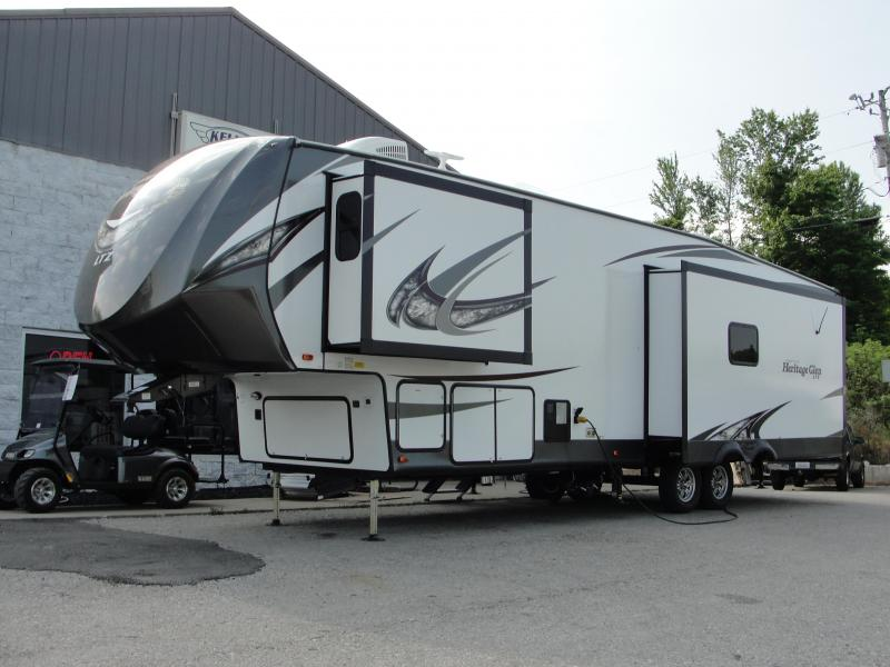 2019 Heritage Glen 337BAR Travel Trailer