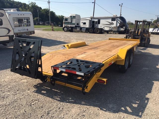 2019 Anderson Manufacturing EQ7248T Equipment Trailer