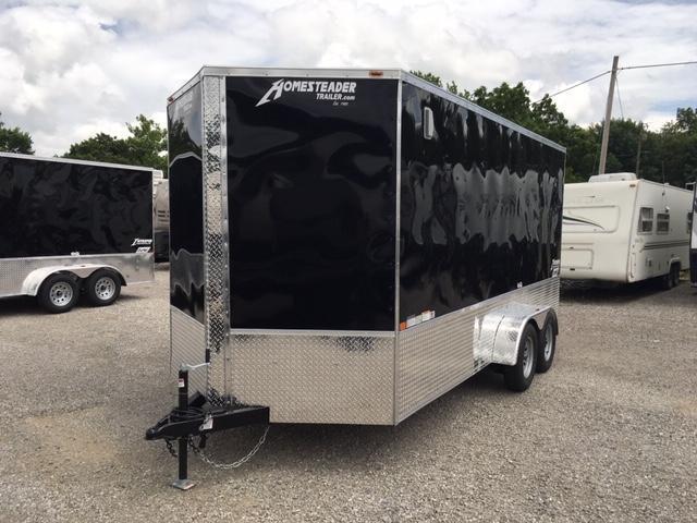 2020 Homesteader Inc. 716IT OHV Enclosed Cargo Trailer